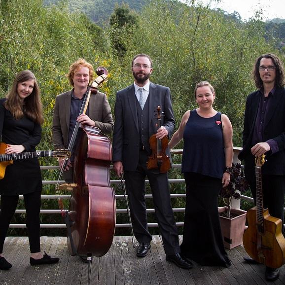 Wedding Jazz Bands: Hot & Swinging Tasmanian Gypsy Jazz Band