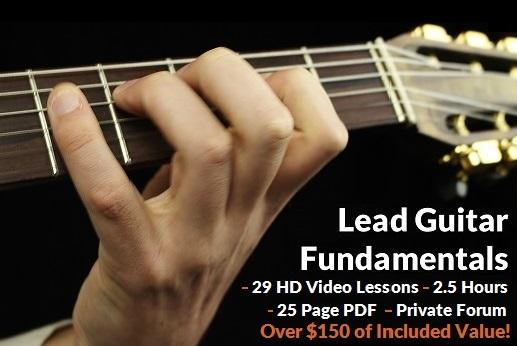 Gypsy Jazz Lead Guitar Fundamentals Course